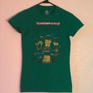 Ninja turtle jrs M shirt